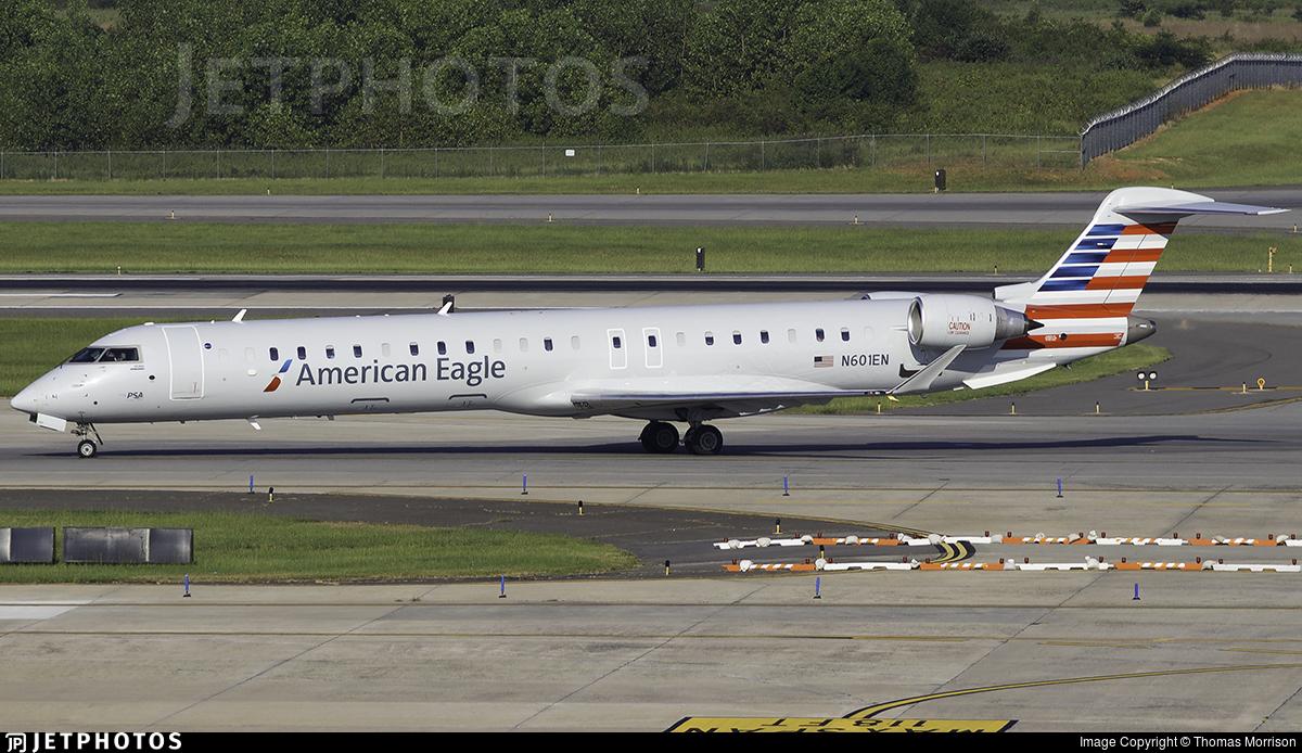 N601EN - Bombardier CRJ-900LR - American Eagle (PSA Airlines)