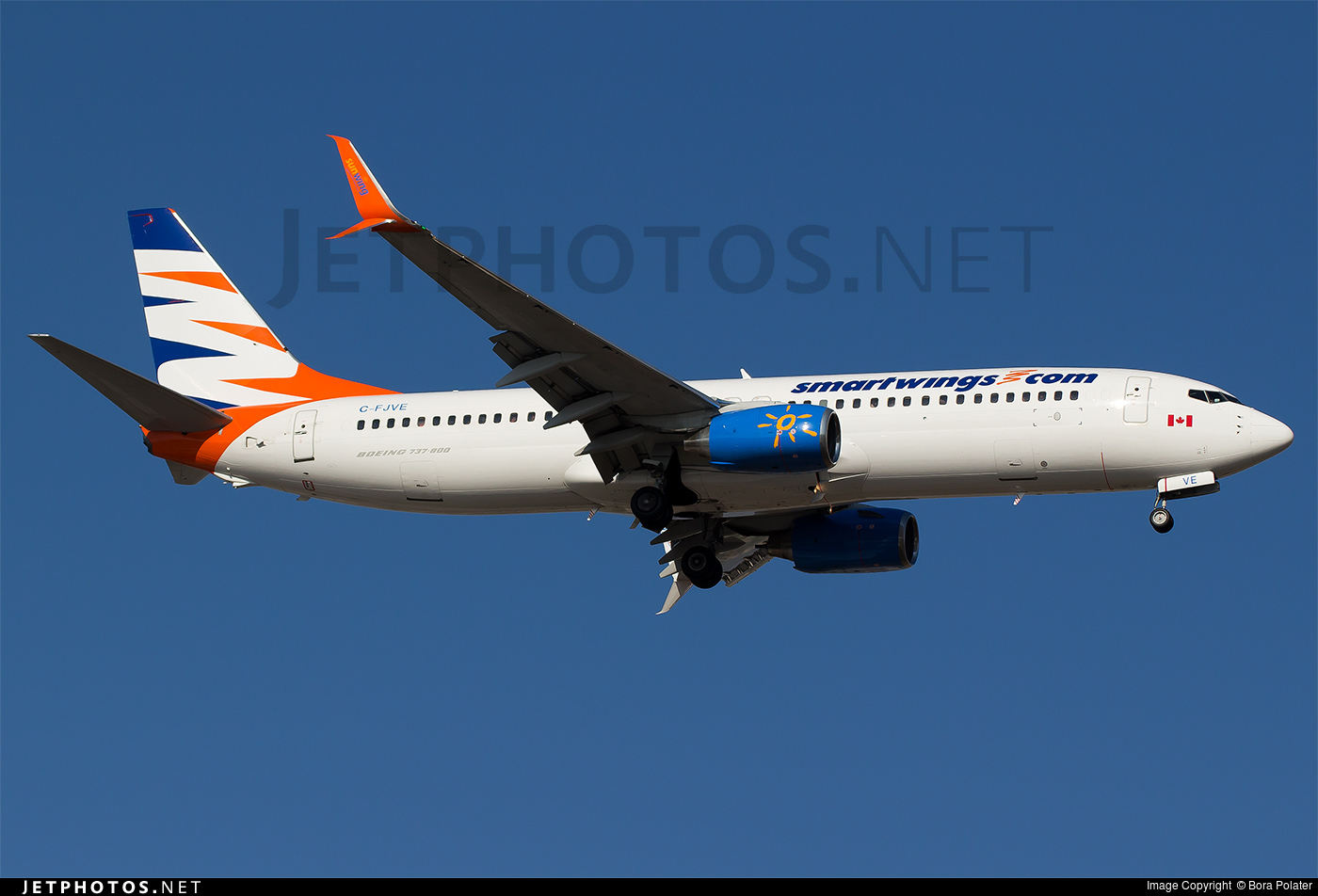 C-FJVE - Boeing 737-8DC - SmartWings (Sunwing Airlines)