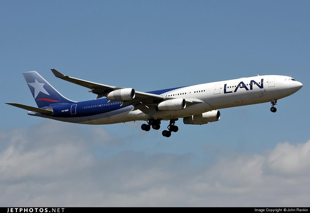 CC-CQF - Airbus A340-313X - LAN Airlines