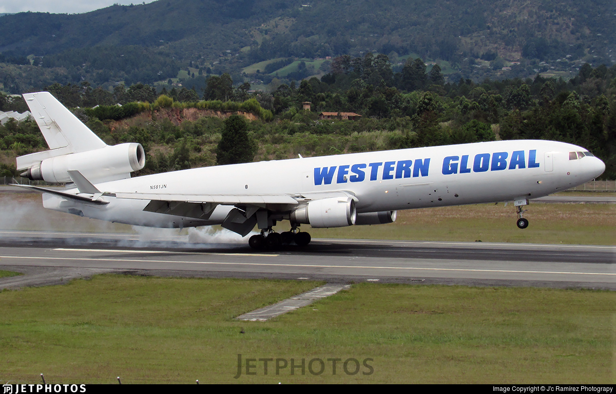 N581JN - McDonnell Douglas MD-11(F) - Western Global Airlines
