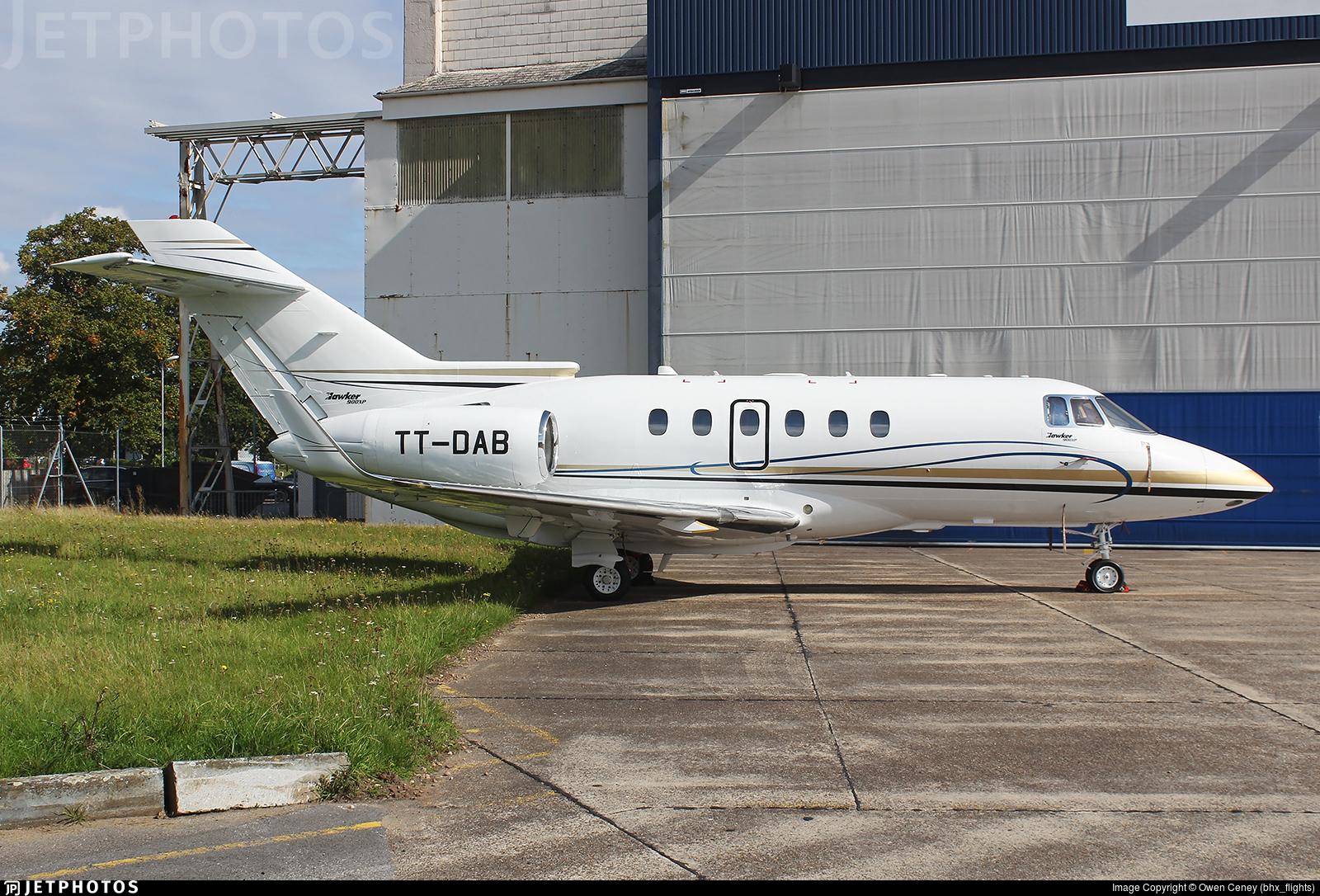 TT-DAB - Hawker Beechcraft 900XP - Tchad - Government