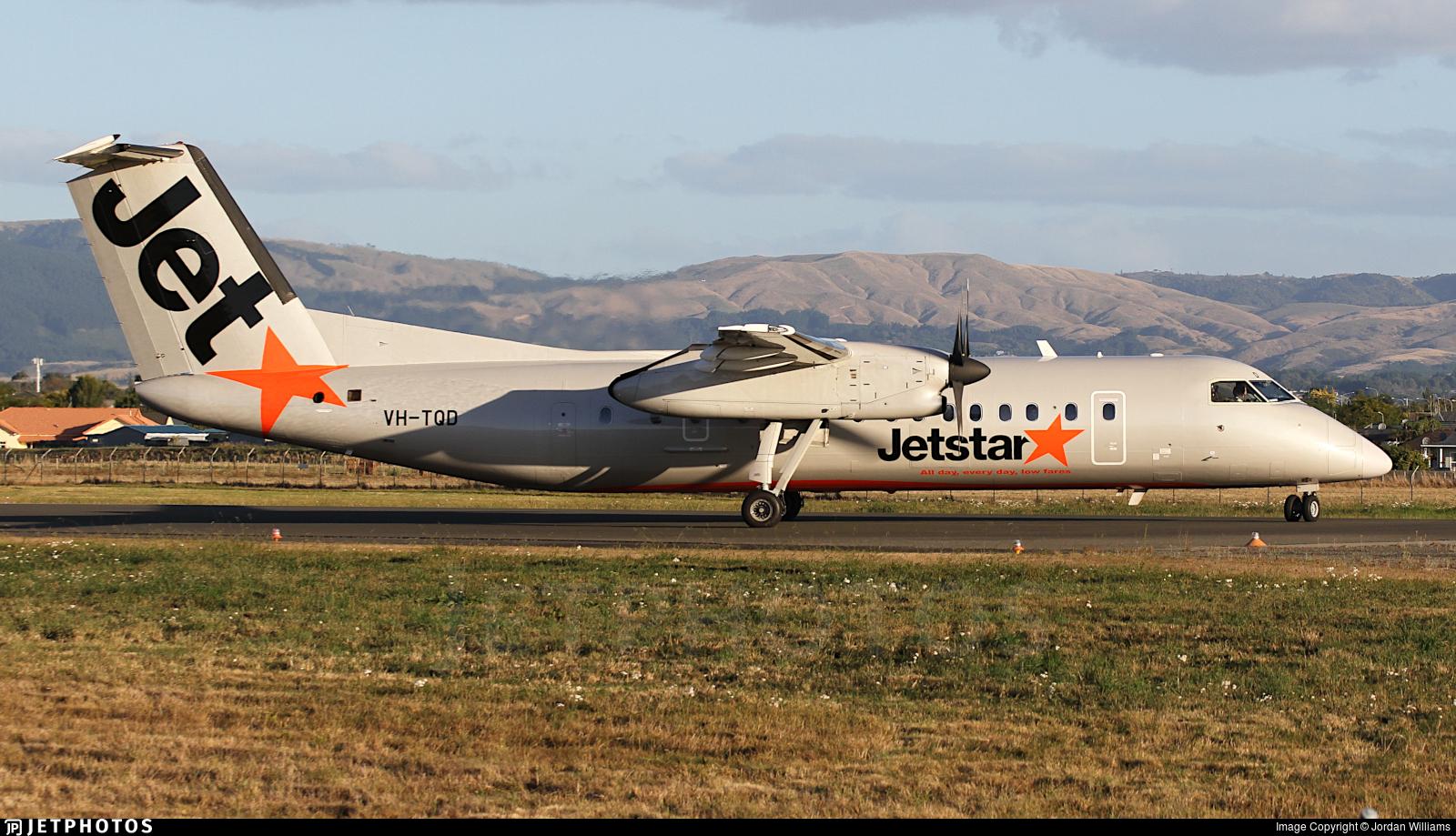 VH-TQD - Bombardier Dash 8-Q315 - Jetstar Airways (Eastern Australia Airlines)