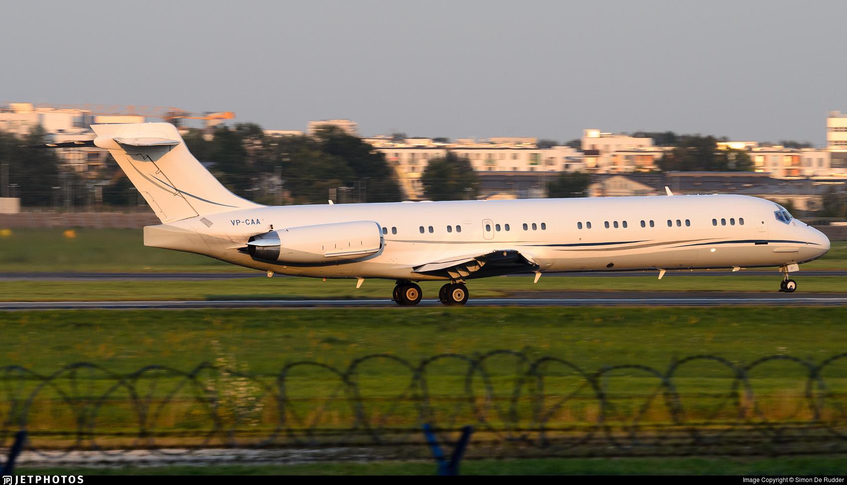 VP-CAA - McDonnell Douglas MD-87 - Private