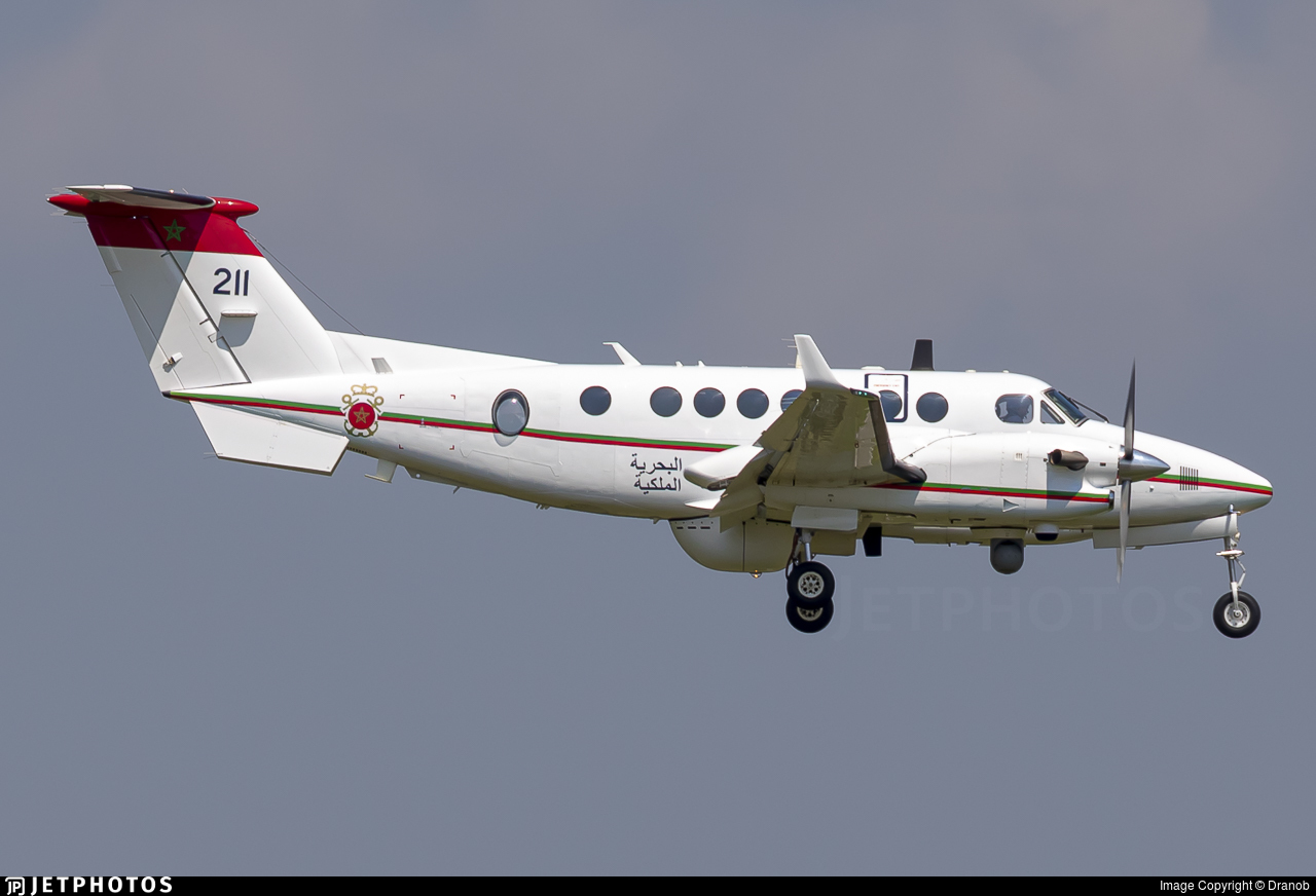 CN-TMR - Beechcraft B300 King Air 350ER - Morocco - Navy