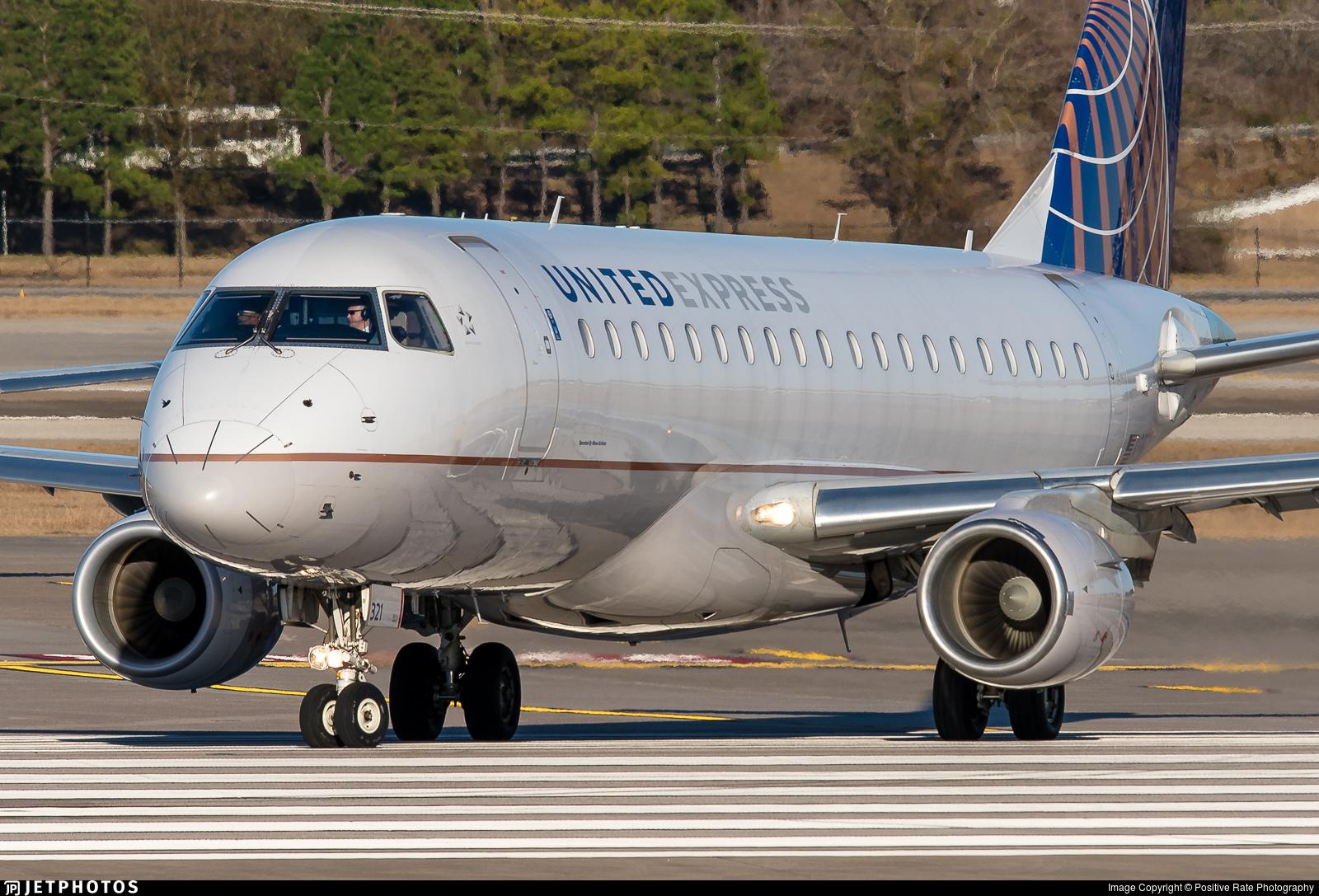 N89321 - Embraer 170-200LR - United Express (Mesa Airlines)