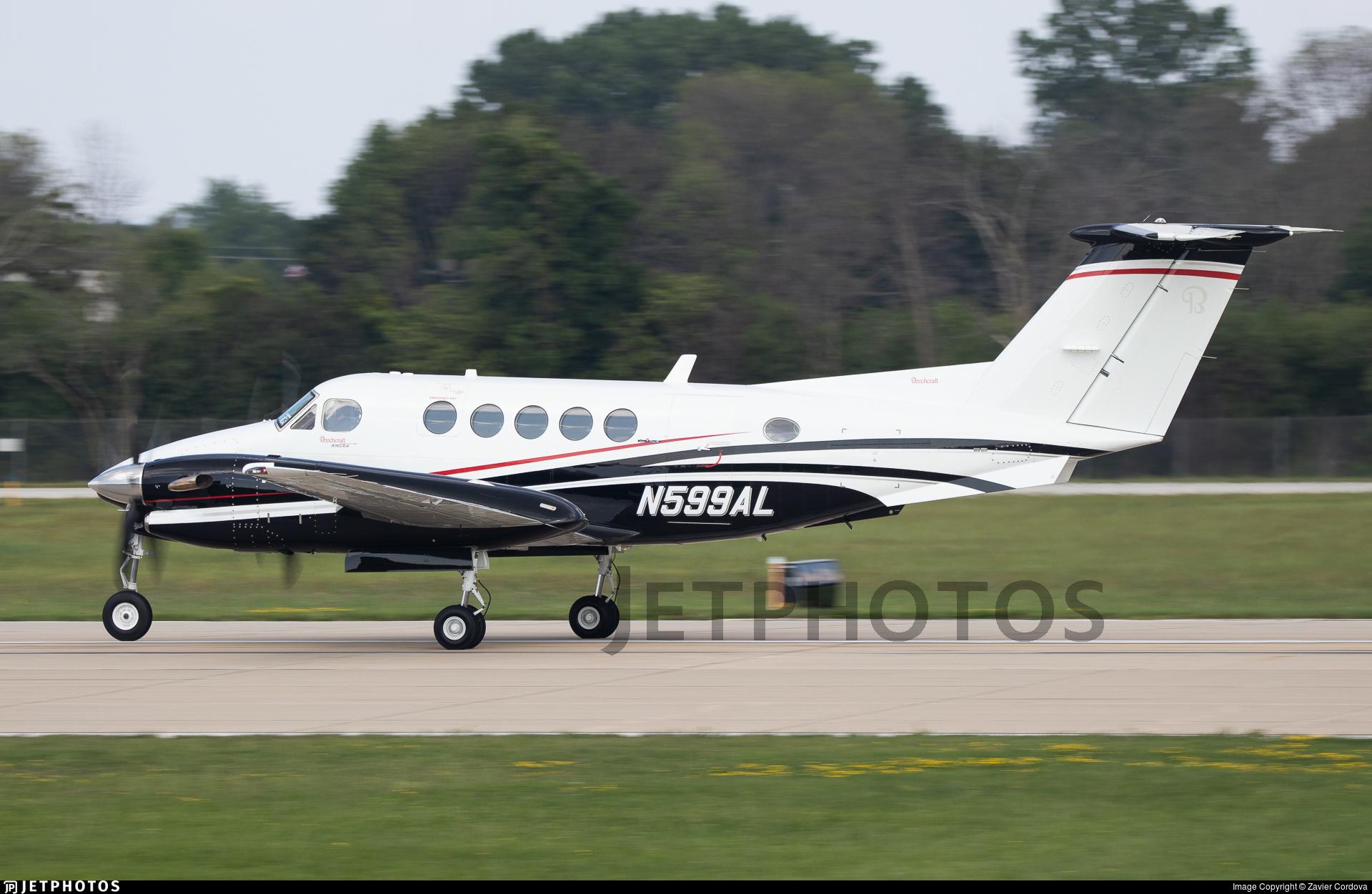 N599AL - Beechcraft 300LW Super King Air - Private