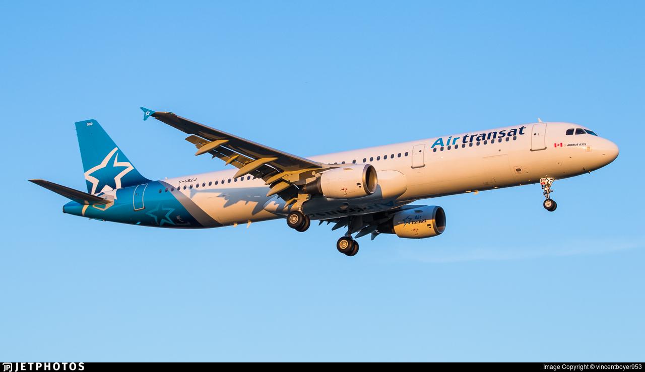C-GEZJ - Airbus A321-211 - Air Transat