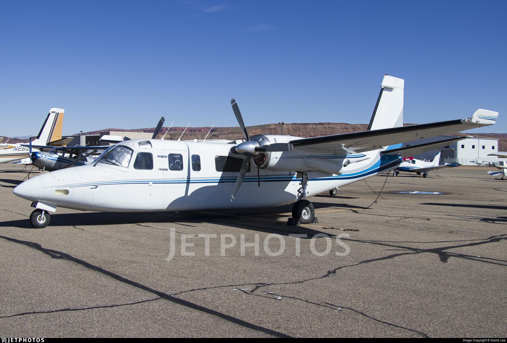 N690TR - Aero Commander 690 - Kolob Canyons Air Services