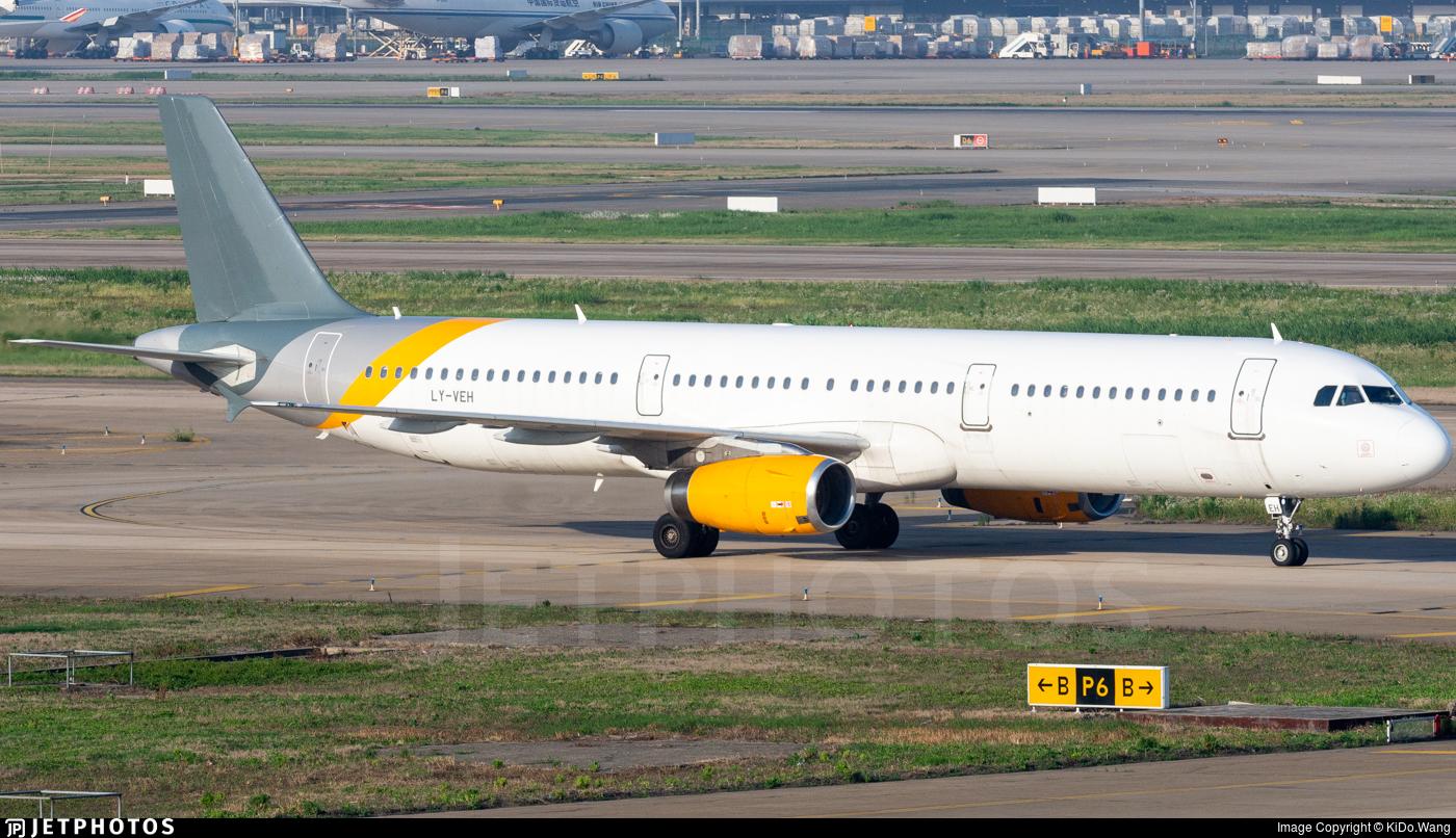 LY-VEH - Airbus A321-231 - Avion Express