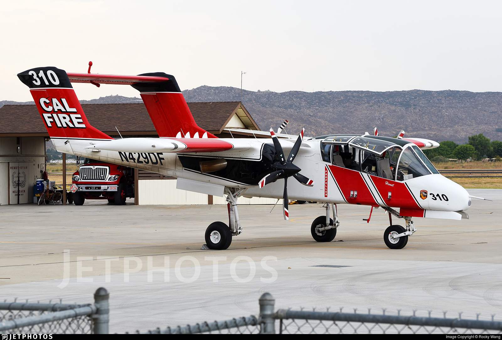 N429DF - North American OV-10A Bronco - United States - California Department of Forestry