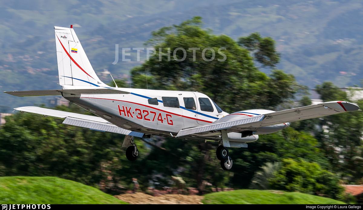 HK-3274-G - Piper PA-34-220T Seneca III - Private