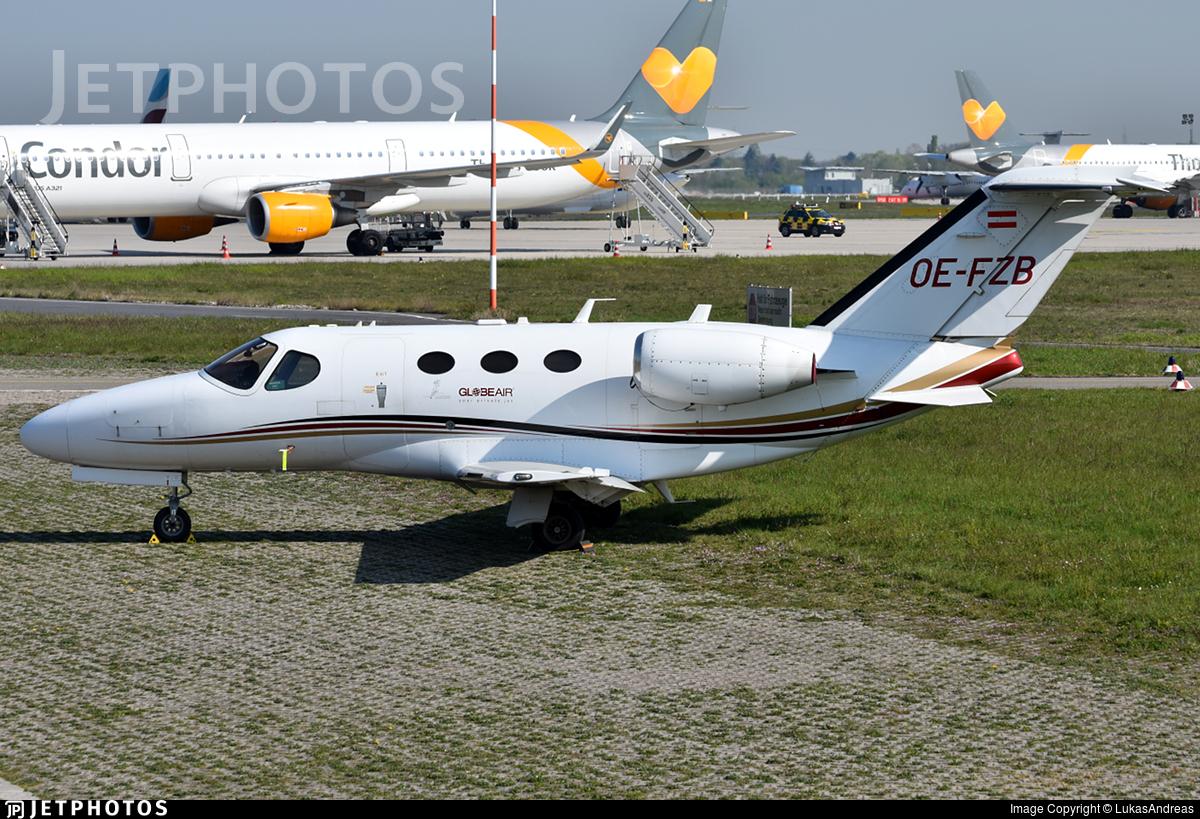 OE-FZB - Cessna 510 Citation Mustang - GlobeAir
