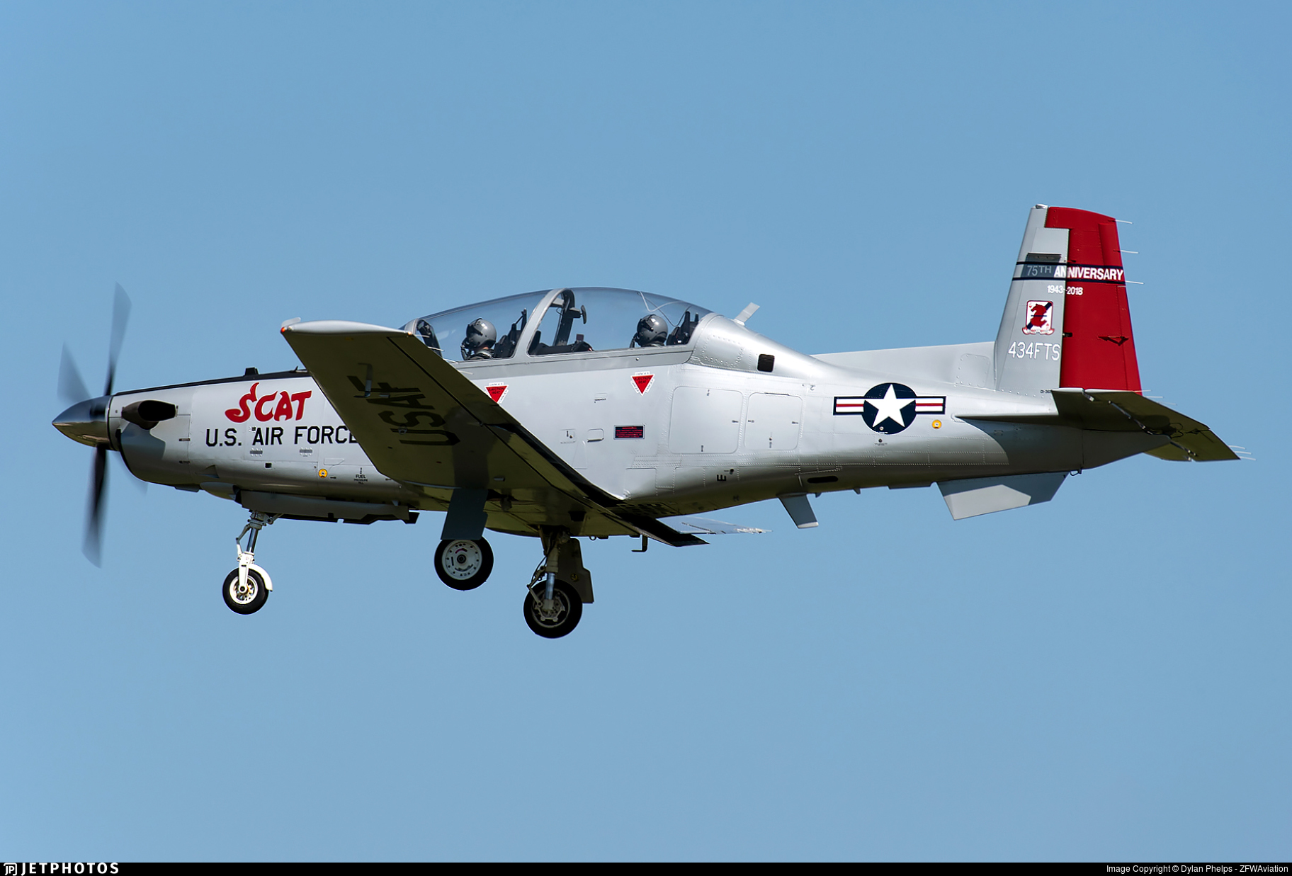 01-3603 - Raytheon T-6A Texan II - United States - US Air Force (USAF)