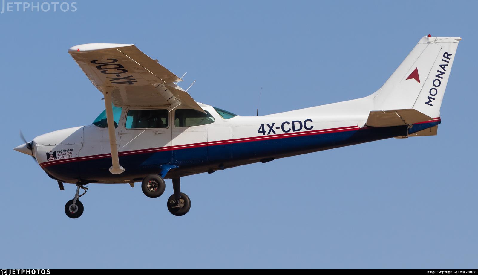 4X-CDC - Cessna 172P Skyhawk II - MoonAir