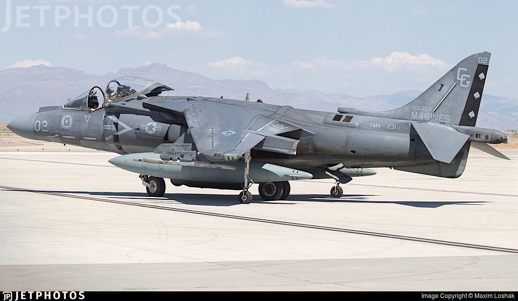 165309 - McDonnell Douglas AV-8B+ Harrier II - United States - US Marine Corps (USMC)