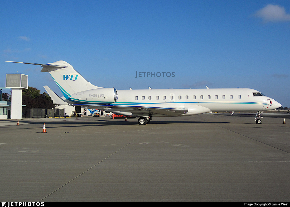 B-96999 - Bombardier BD-700-1A10 Global 6000 - Private
