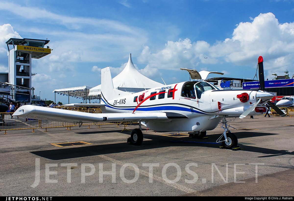 ZK-KNS - Pacific Aerospace P-750 XSTOL - Private