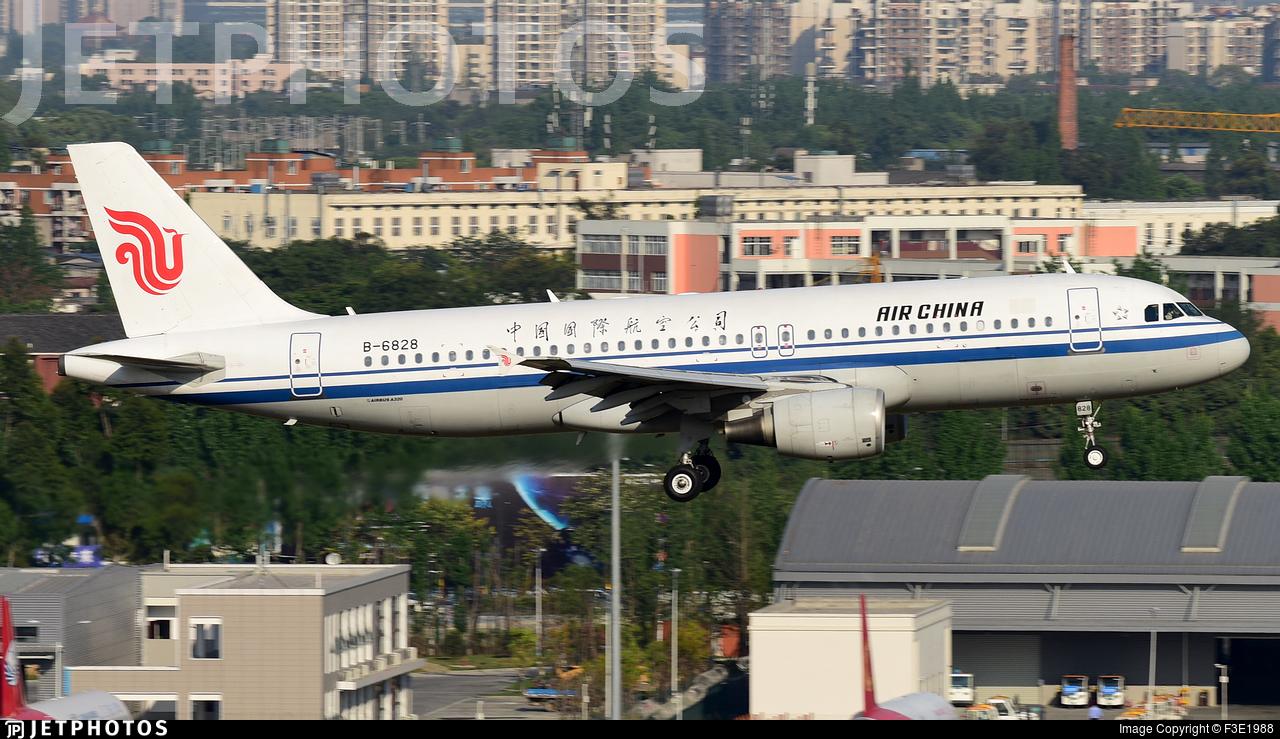 B-6828 - Airbus A320-214 - Air China