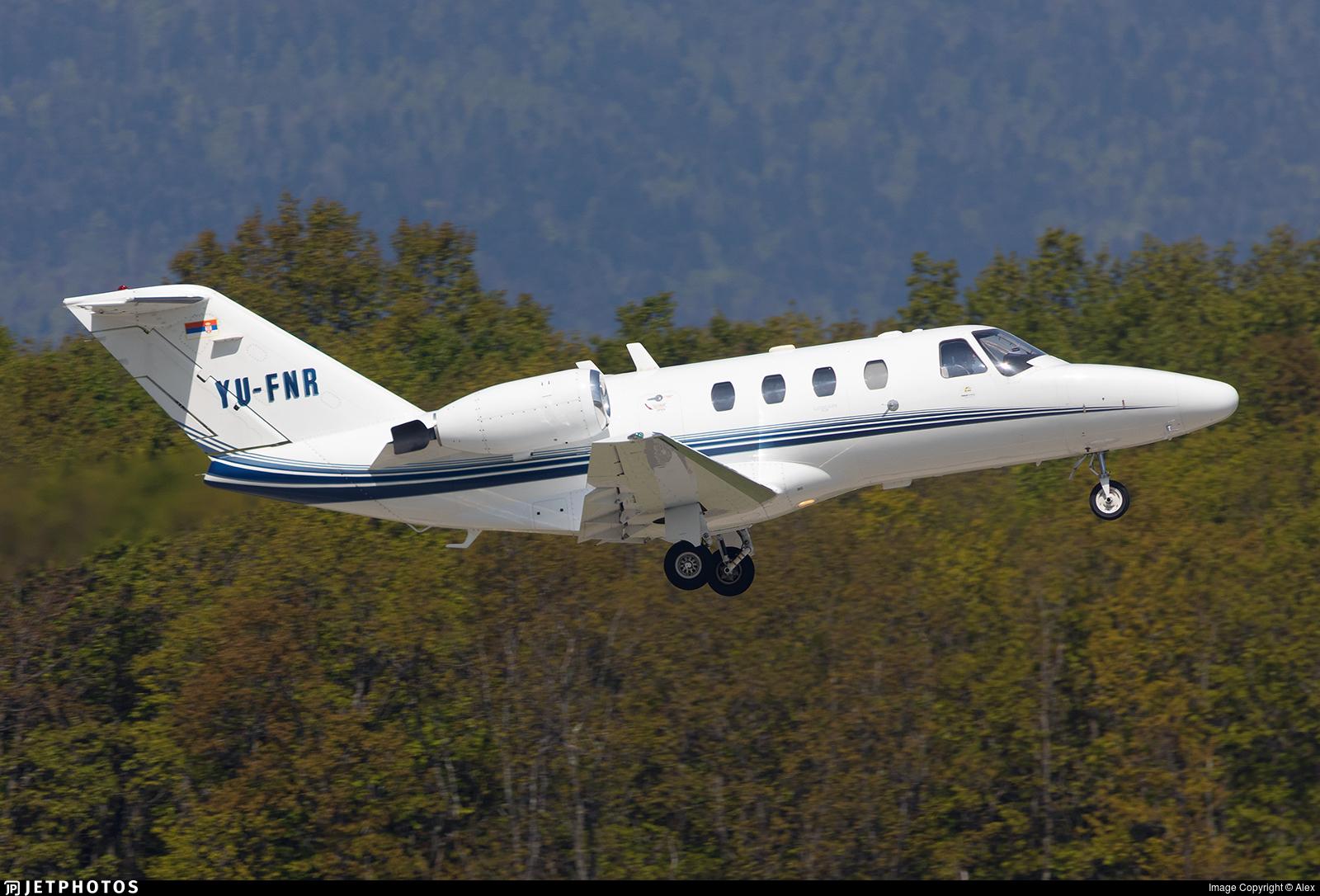 YU-FNR - Cessna 525 Citation CJ1 - Private
