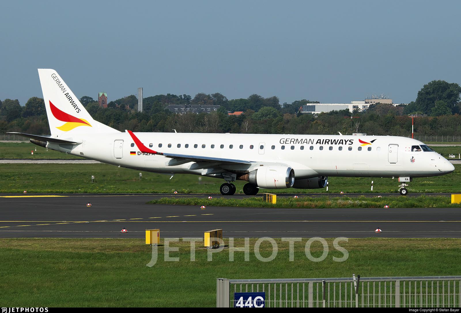 D-AZFA - Embraer 190-100LR - German Airways