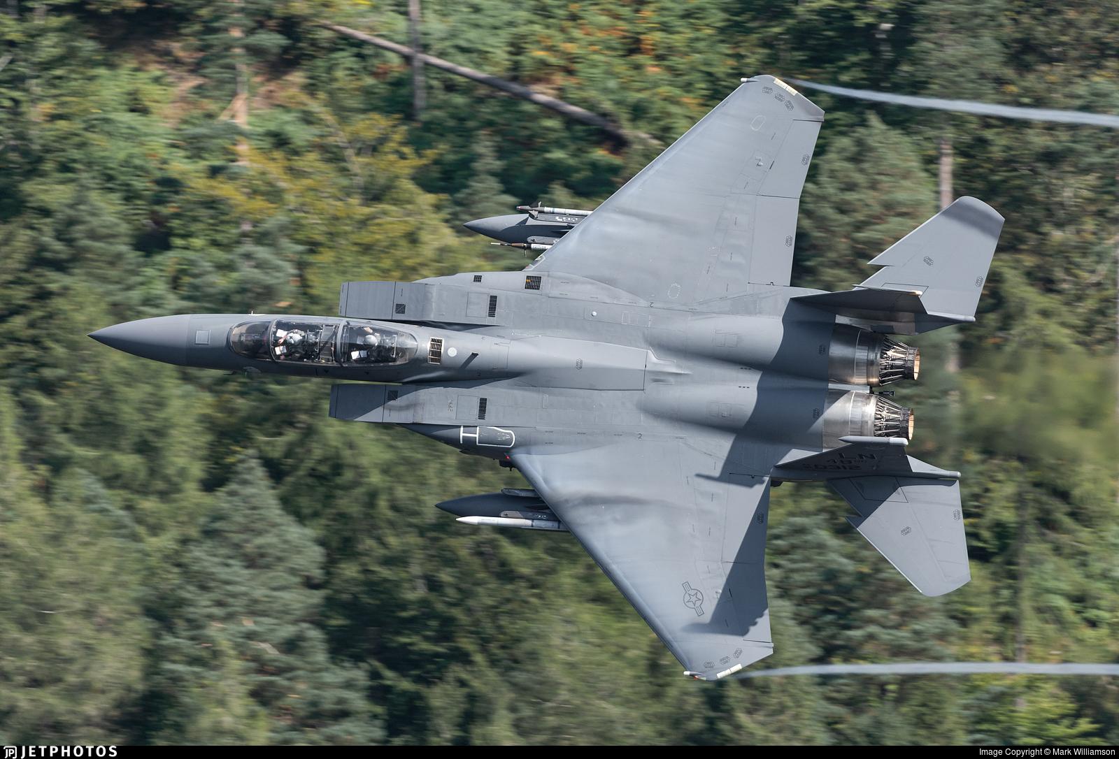 91-0312 - McDonnell Douglas F-15E Strike Eagle - United States - US Air Force (USAF)