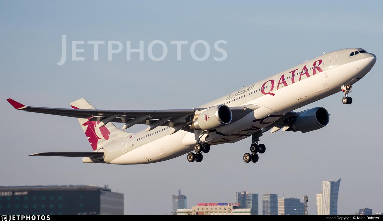 A7-AEF - Airbus A330-302 - Qatar Airways
