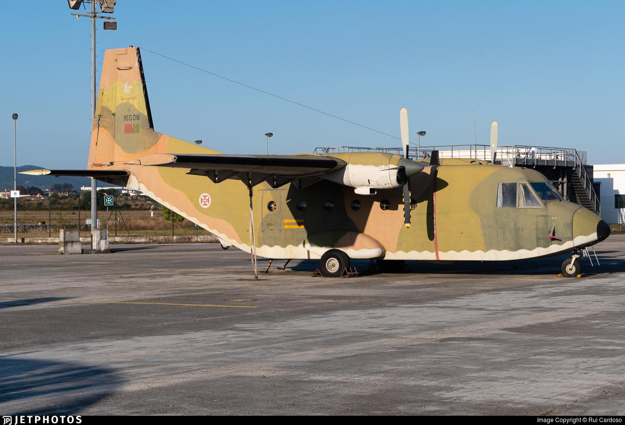 16508 - CASA C-212-100 Aviocar - Portugal - Air Force