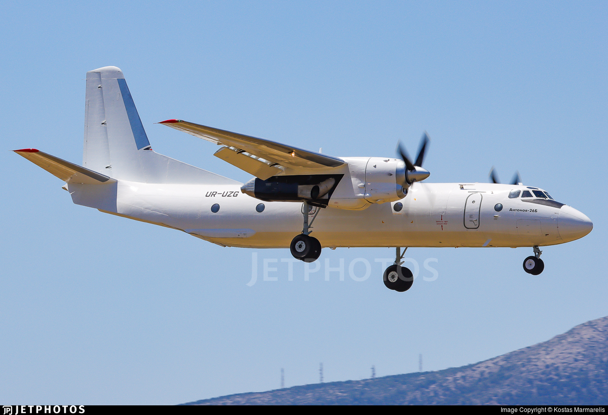 UR-UZG - Antonov An-26B - Constanta Airlines