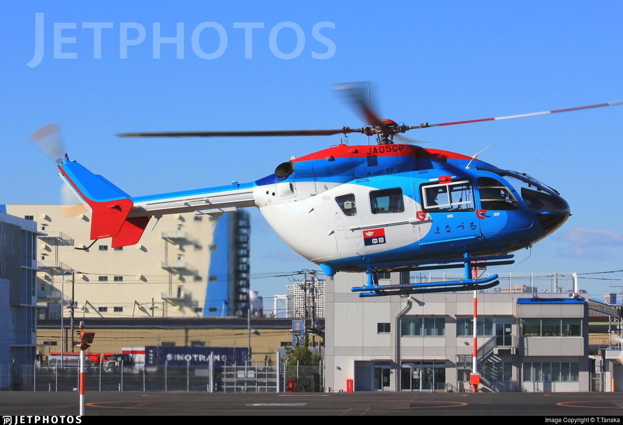 JA05CP - MBB-Kawasaki BK117C-2 - Private