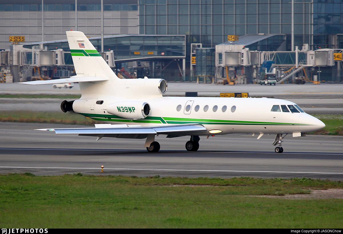 N39WP - Dassault Falcon 50EX - Private