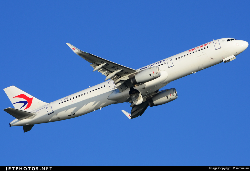 B-8165 - Airbus A321-231 - China Eastern Airlines