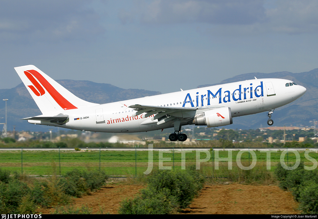 D-AIDH - Airbus A310-304 - Air Madrid