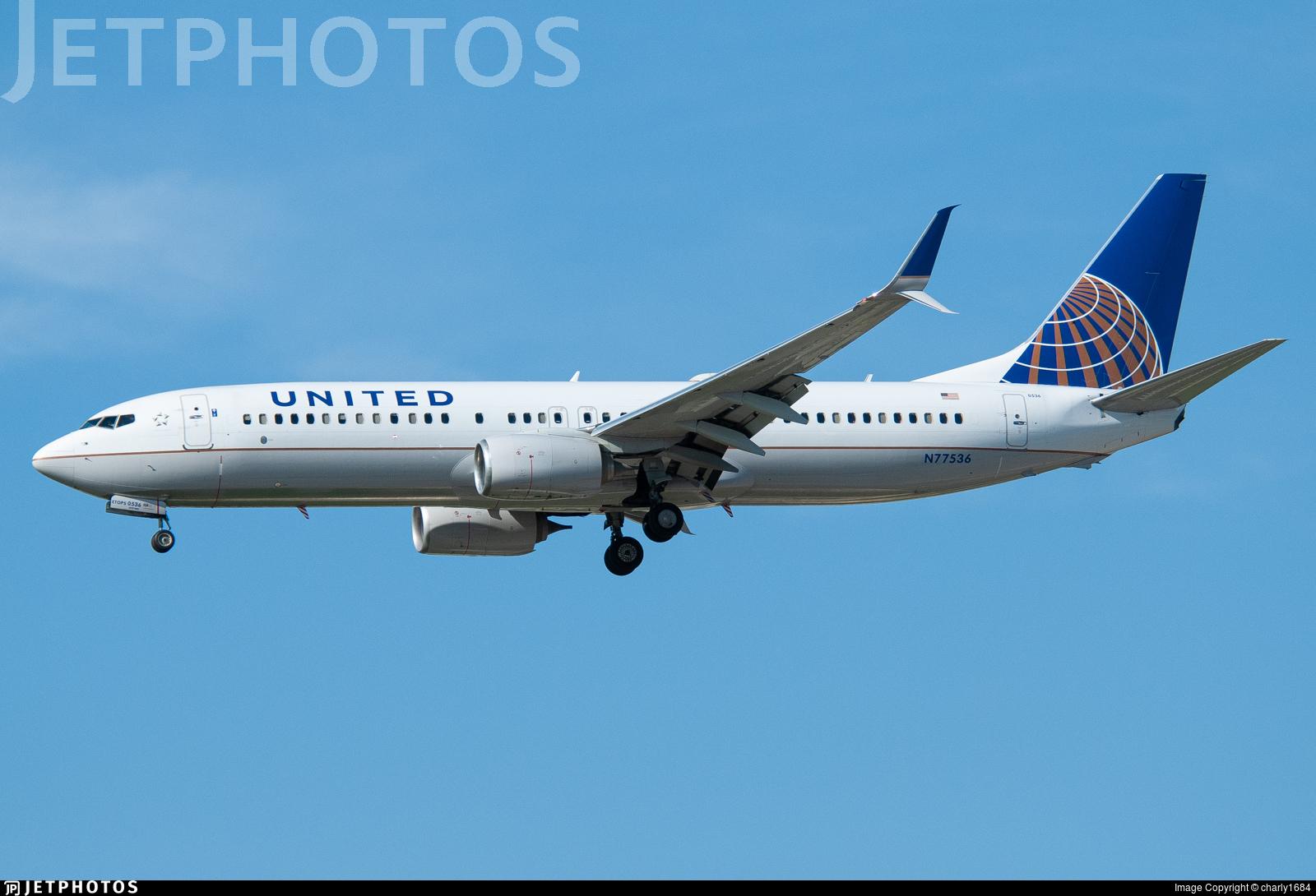 N77536 - Boeing 737-824 - United Airlines