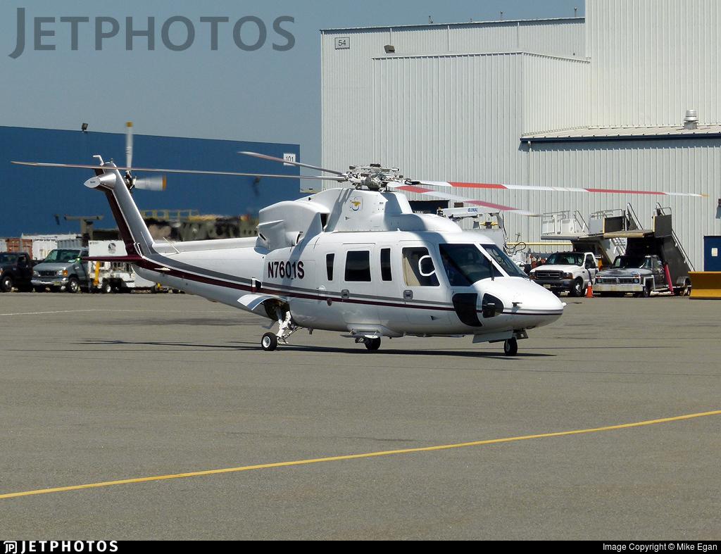 N7601S - Sikorsky S-76C - Private