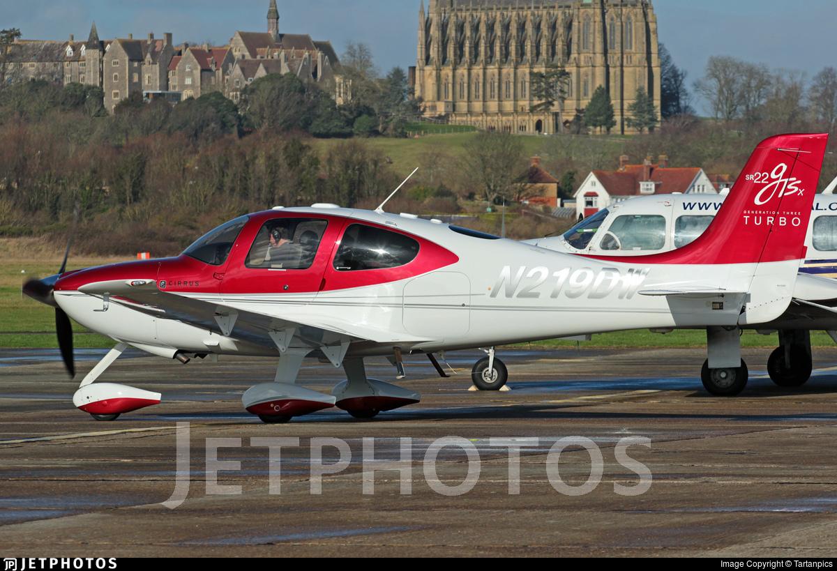 N219DW - Cirrus SR22-GTSx Turbo - Private
