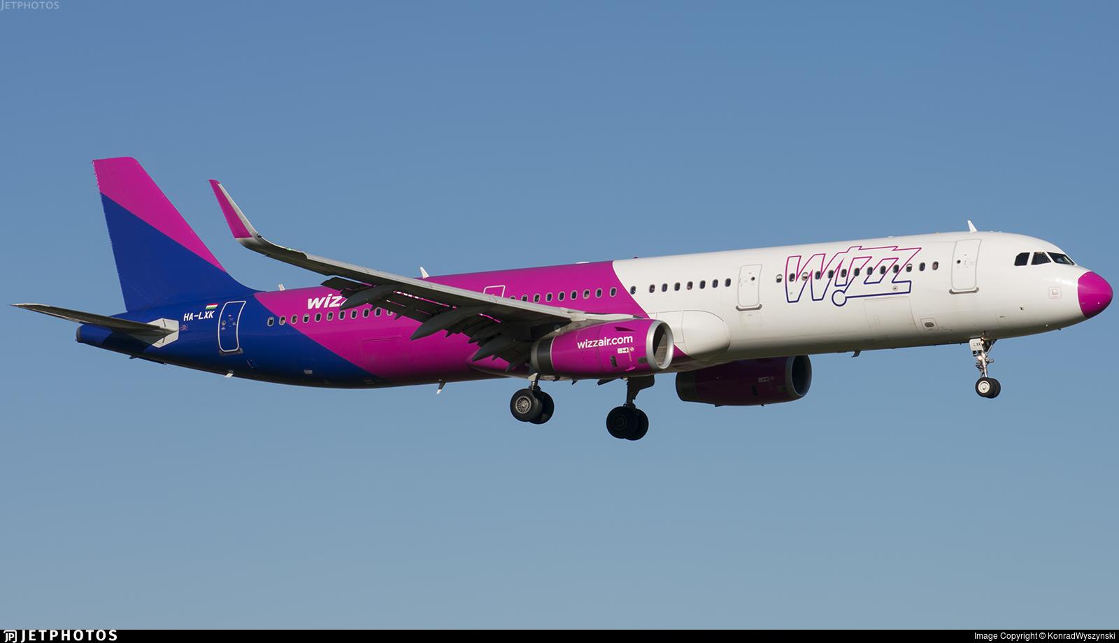 HA-LXK - Airbus A321-231 - Wizz Air