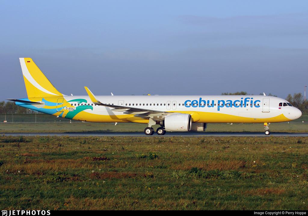 D-AYAJ - Airbus A321-271NX - Cebu Pacific Air