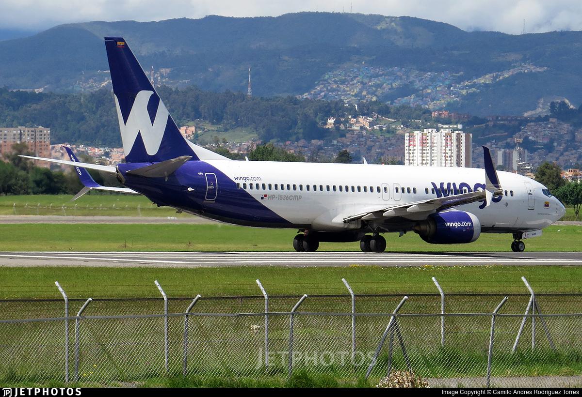 HP-1536CMP - Boeing 737-8V3 - Wingo