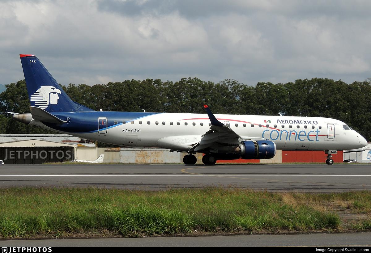 XA-GAK - Embraer 190-100LR - Aeroméxico Connect