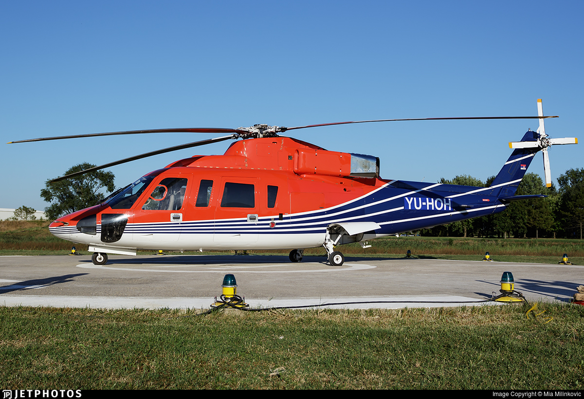 YU-HOH - Sikorsky S-76B - Private