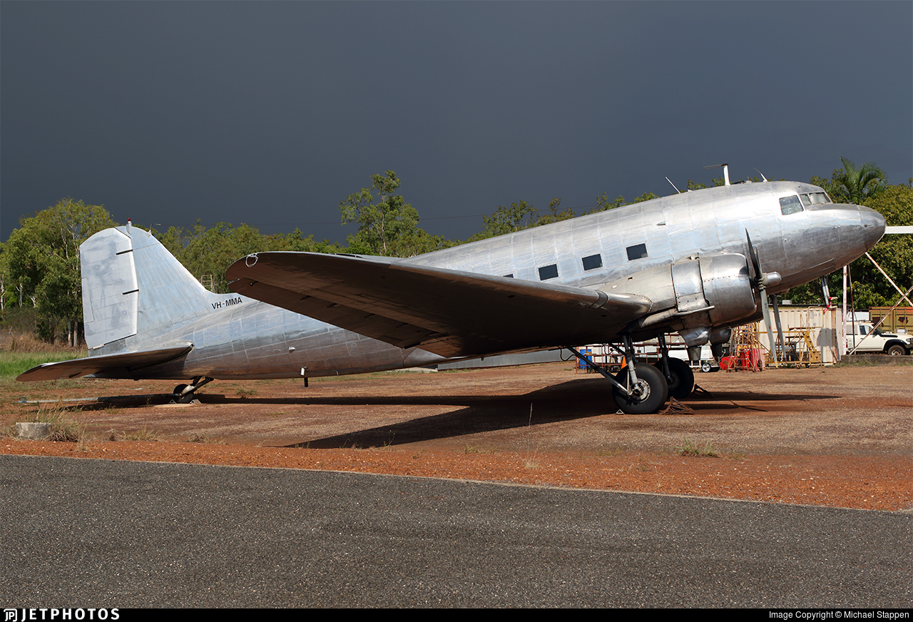 VH-MMA - Douglas DC-3C - Hardy Aviation