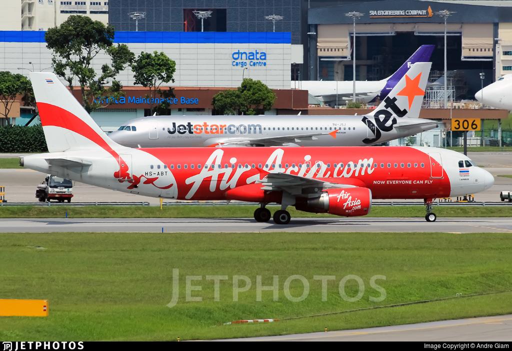 HS-ABT - Airbus A320-216 - Thai AirAsia