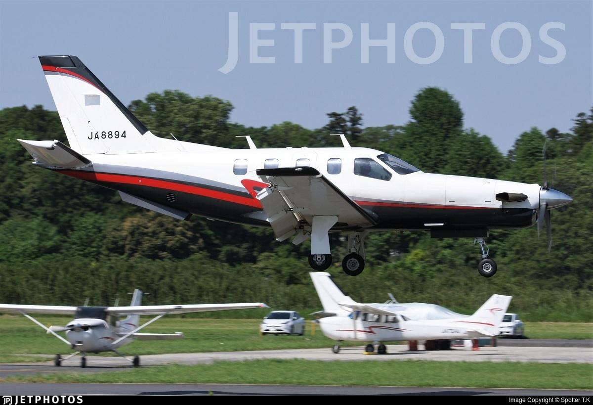 JA8894 - Socata TBM-700 - Private