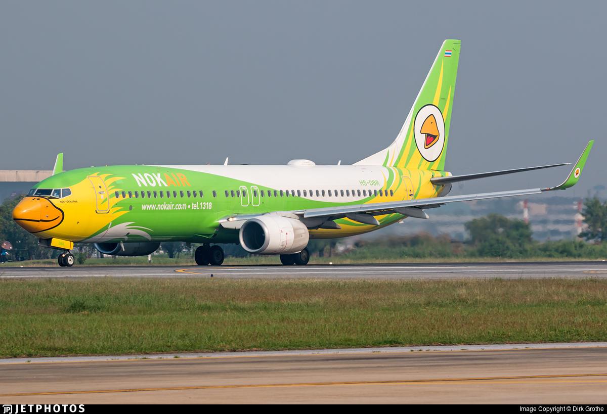 HS-DBR - Boeing 737-86N - Nok Air