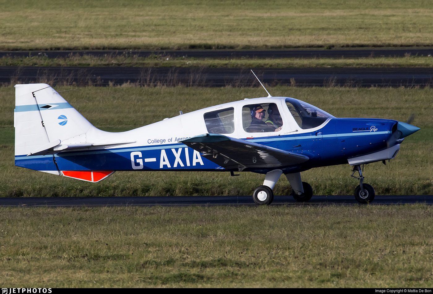 G-AXIA - Beagle B121 Pup - Private