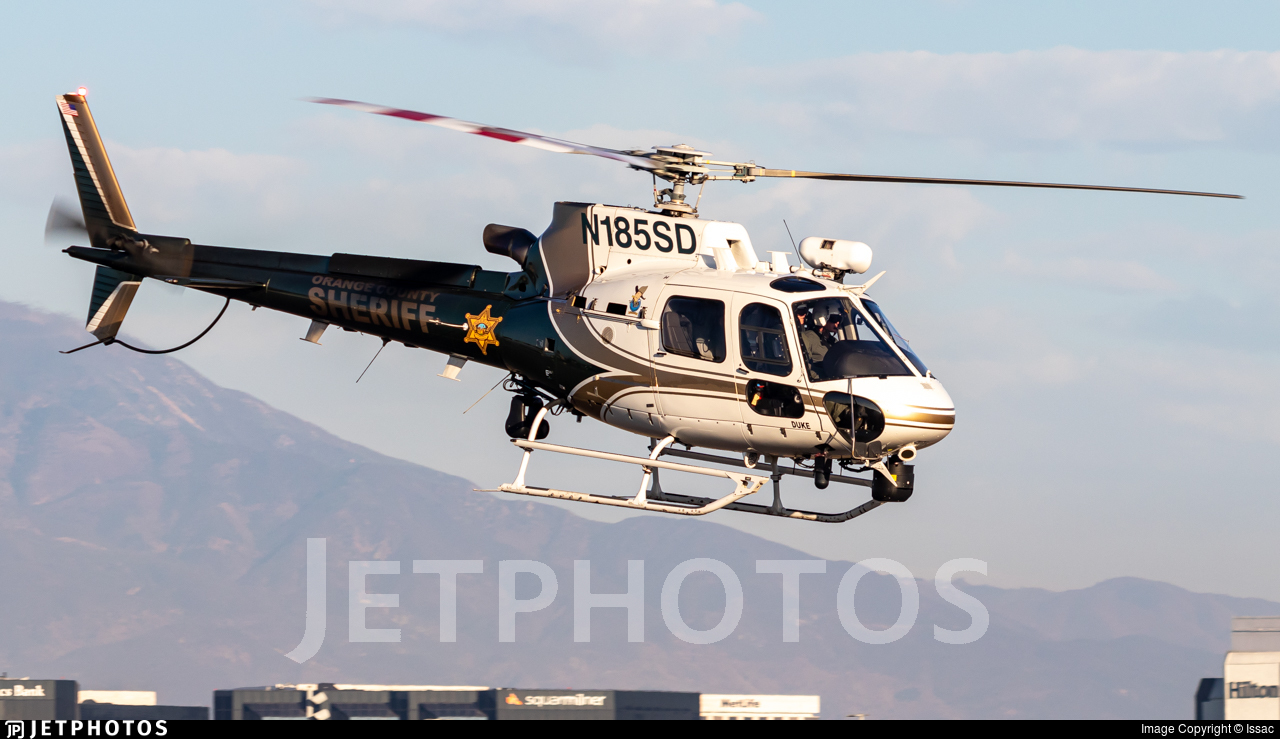 N185SD - Airbus Helicopters H125 - United States - Orange County Sheriff Department, California