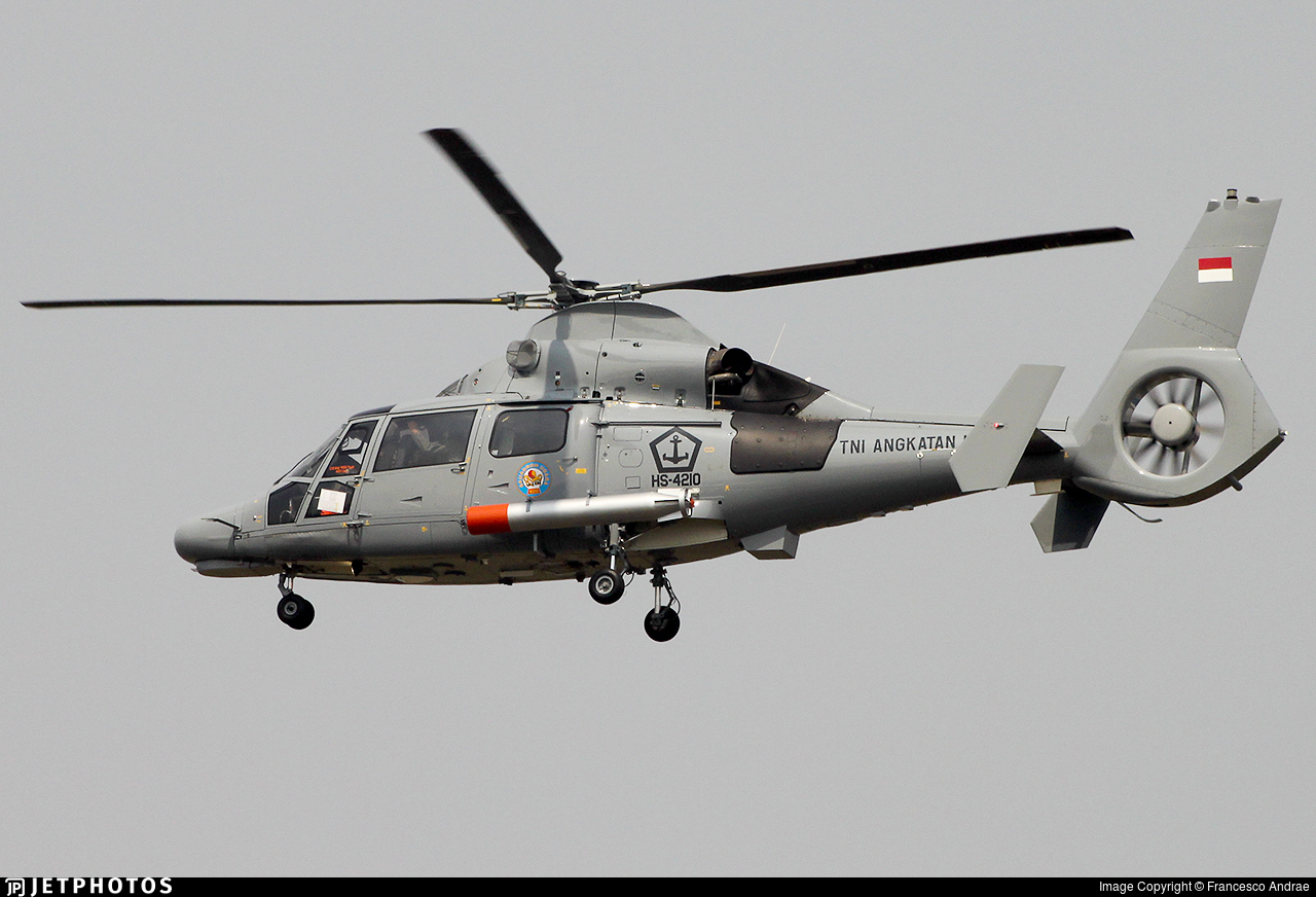HS-4210 - Eurocopter AS-565MBe Panther  - Indonesia - Naval Air Arm