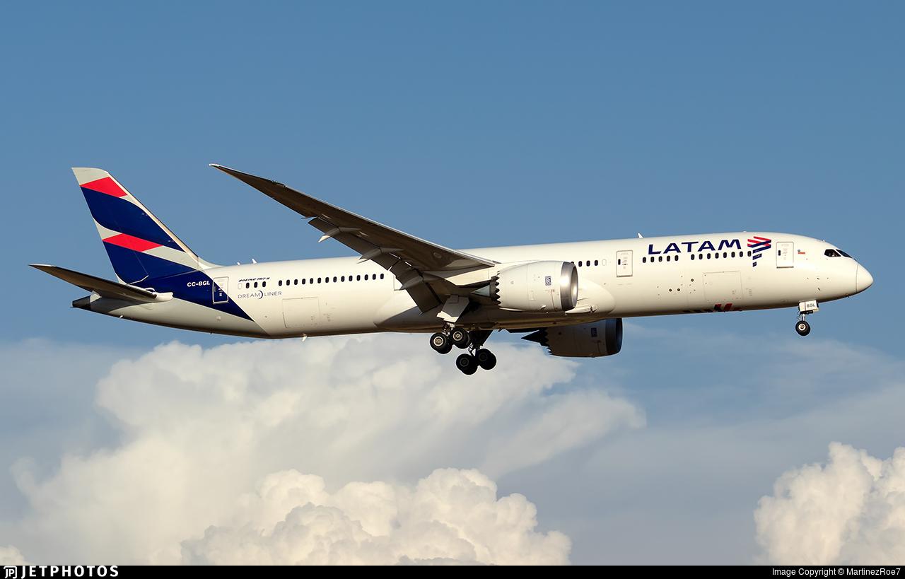 CC-BGL - Boeing 787-9 Dreamliner - LATAM Airlines