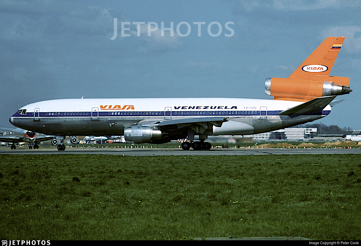 YV-133C - McDonnell Douglas DC-10-30 - Viasa