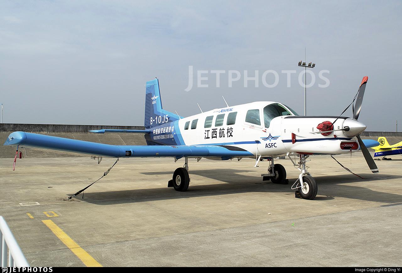 B-10J5 - Pacific Aerospace P-750 XSTOL - Aero Sports Federation of China